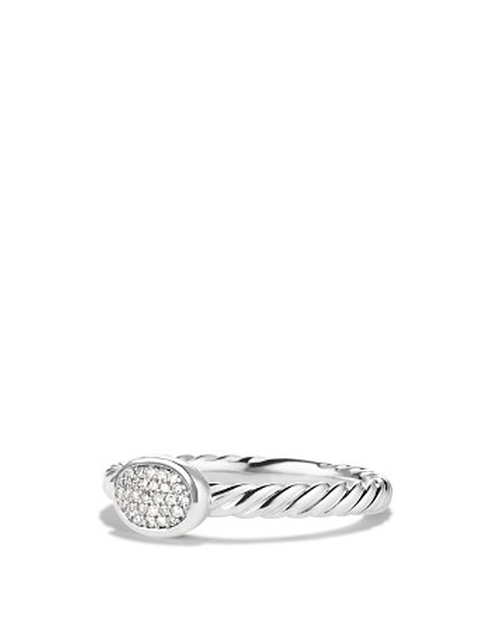 Cable Collectibles Oval Ring by David Yurman in Ballers - Season 1 Episode 7