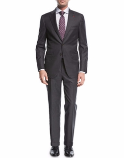 Solid Wool Two-Piece Suit by Isaia in Designated Survivor