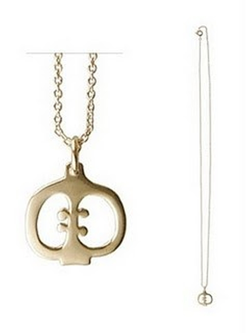 Apple Necklace by A.P.C. in Bridesmaids