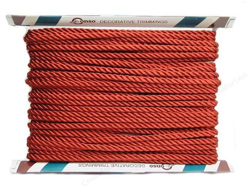 Princess Twisted Rope Cord - Chinese Red by Conso in Fifty Shades of Grey