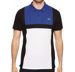 Color Block Polo Shirt by Lacoste in Empire