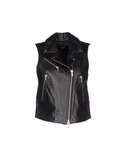 Zip Leather Vest by Twin-Set Simona Barbieri in The Good Wife
