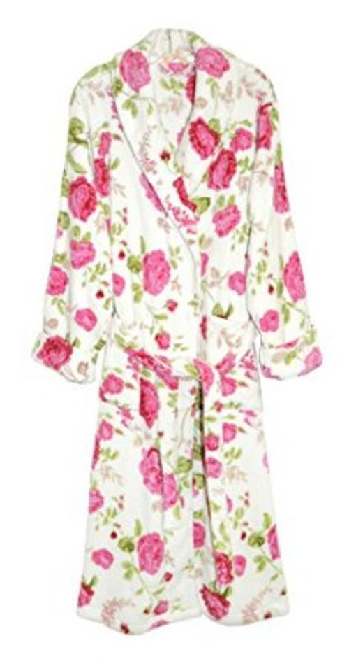 Women's Fleece Robe by La Cera in The Other Woman