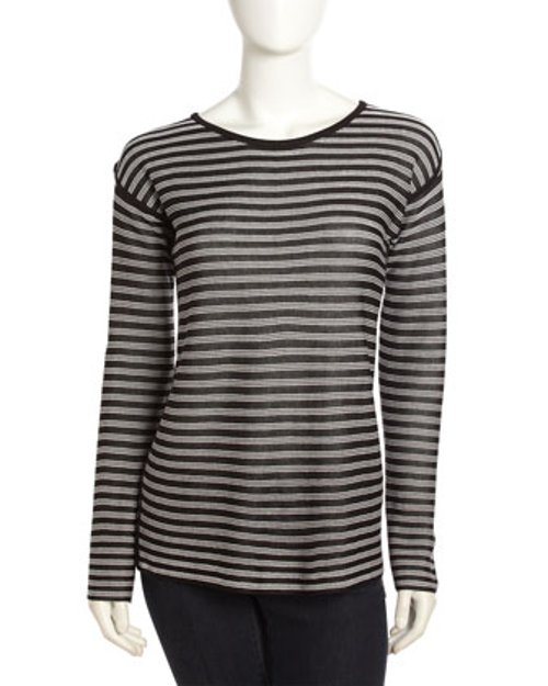 Striped Long-Sleeve T-Shirt by T by Alexander Wang in If I Stay