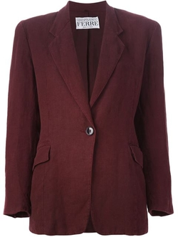 Single Button Blazer by Gianfranco Ferre Vintage in The Good Wife
