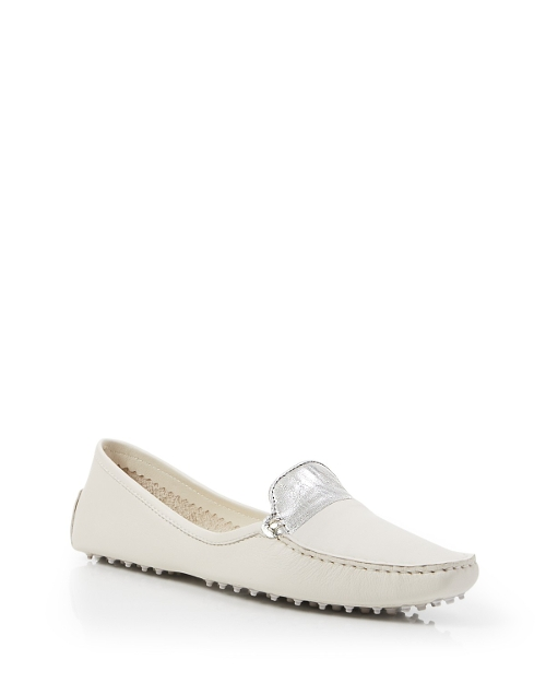 Metallic Trimmed Loafers by Derek Lam in Before I Wake