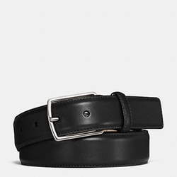 Modern Harness Smooth Leather Belt by Coach in Scream Queens