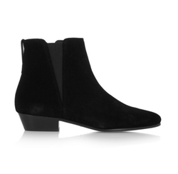 Patsha Suede Ankle Boots by Isabel Marant in Keeping Up With The Kardashians