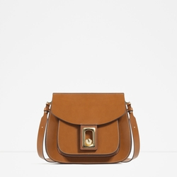 Crossbody Bag With Fastening Detail by Zara in Pretty Little Liars
