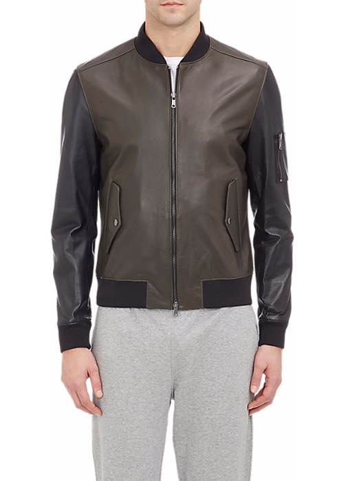 Leather Bomber Jacket by Todd Snyder in Captain America: Civil War