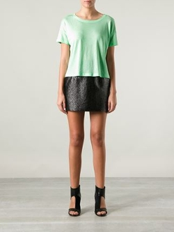 Cropped T-Shirt by T by Alexander Wang in Mean Girls