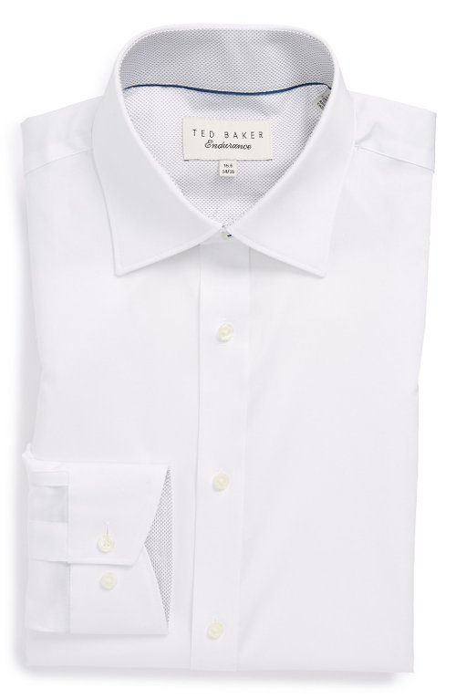 Trim Fit Dress Shirt by Ted Baker London in Taken 3
