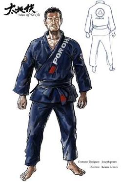 Custom Made Taekwondo Uniform by Joseph A. Porro (Costume Designer) in Man of Tai Chi