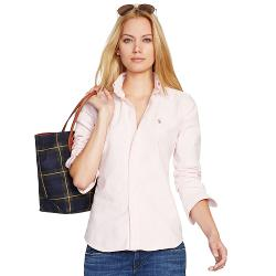 Custom-Fit Striped Shirt by Polo Ralph Lauren in No Strings Attached