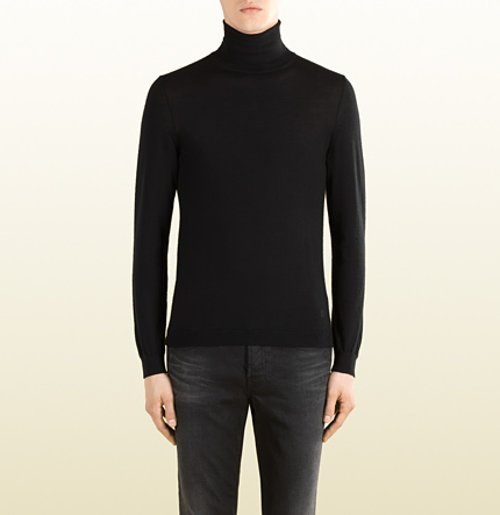 Cashmere Turtleneck Sweater by Gucci in The Man from U.N.C.L.E.