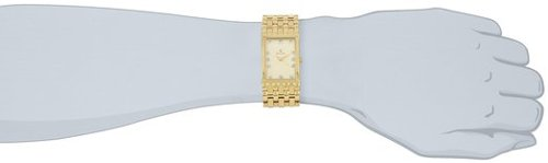 Diamond Accented Gold-Tone Steel Watch by Bulova in The Town