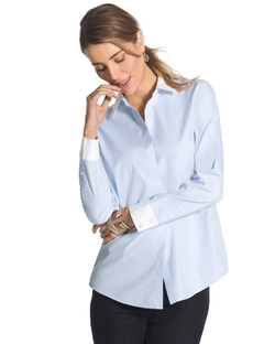 Colorblock Kaelyn Shirt by Effortless in New Girl