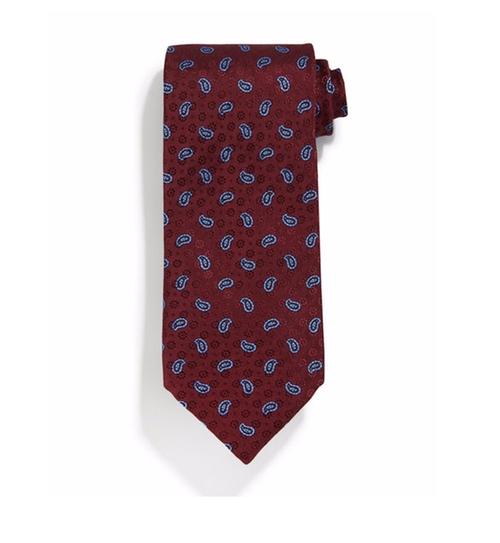 Neat Paisley-Print Silk Tie by Stefano Ricci in Ballers - Season 2 Episode 5