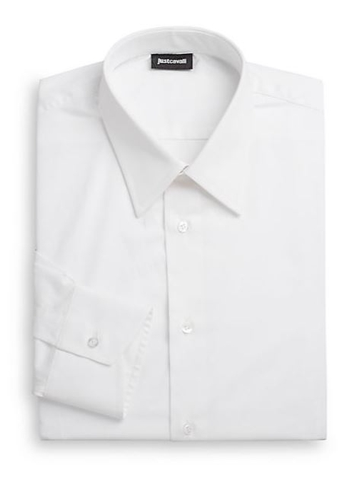 Regular-Fit Camica Cotton Dress Shirt by Just Cavalli in The Blacklist