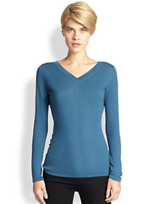 V-Neck Sweater by Saks Fifth Avenue Collection in Paddington