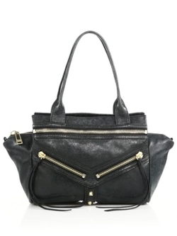 Trigger Small Leather Satchel Bag by Botkier New York in Pretty Little Liars