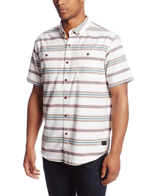 Men's Robinson Short Sleeve Woven Shirt by Billabong in Lucy