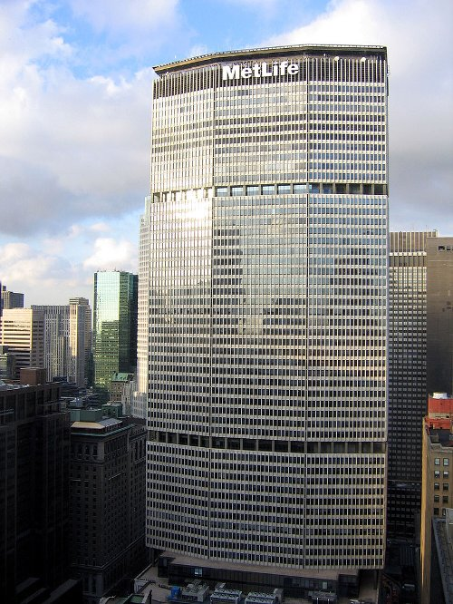 200 Park Avenue (MetLife Building) New York City, New York in Begin Again