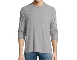 Sueded Jersey Raglan T-Shirt by James Perse in New Girl