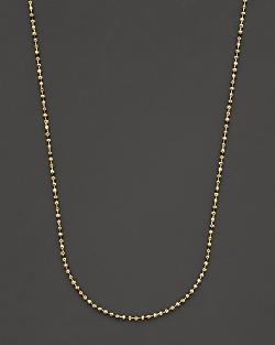 18K Yellow Gold Ball Chain by Temple St. Clair in Blended