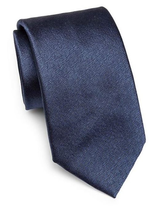 Solid Silk Tie by Saks Fifth Avenue Collection in Mission: Impossible - Rogue Nation