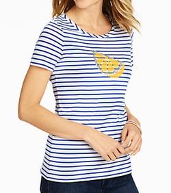 Lemon-Slice Stripe Tee Shirt by Talbots in Unbreakable Kimmy Schmidt