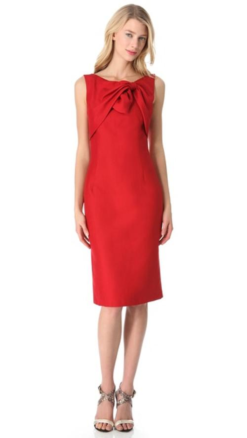 Sleeveless Tie Top Dress by Giambattista Valli in The Other Woman