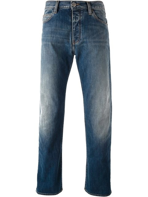 Regular Fit Jeans by Armani Jeans in Poltergeist