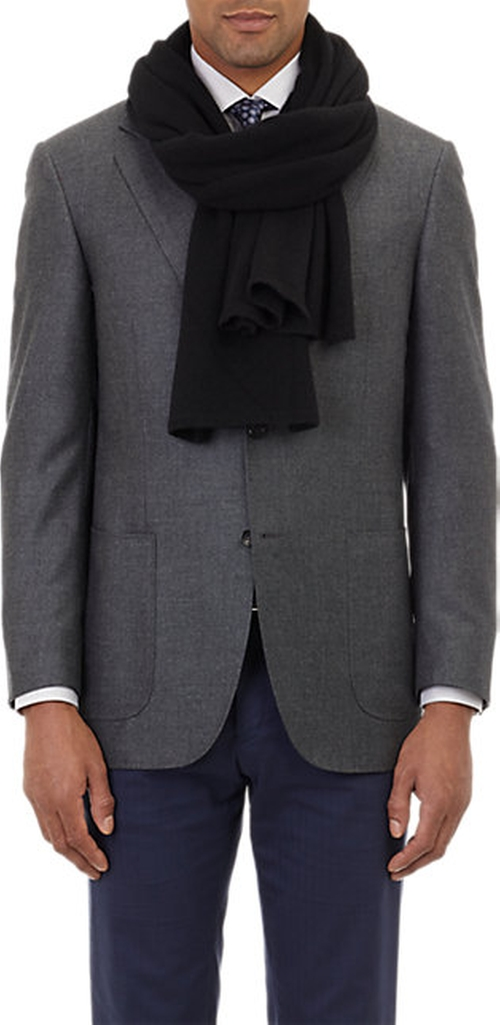 Cashmere Knit Scarf by Barneys New York in The Hateful Eight