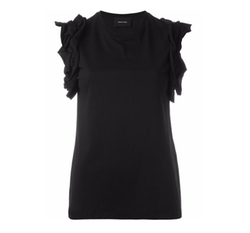 Ruffled Sleeve Top by Simone Rocha in Keeping Up With The Kardashians