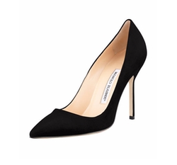 BB Suede Pumps by Manolo Blahnik in The Good Fight