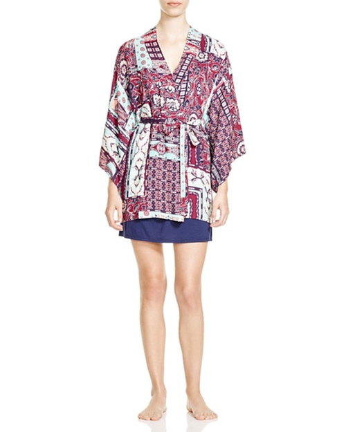 Rayon Twill Happy Coat Robe by Josie in Jem and the Holograms