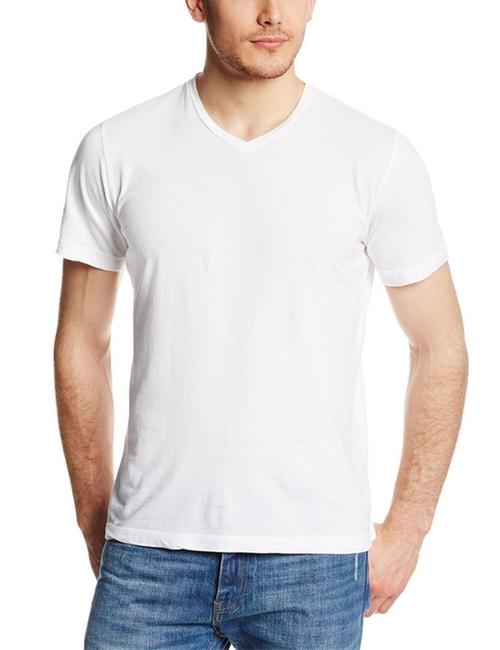 Men's Samsen Short-Sleeve V-Neck T-Shirt by Velvet By Graham & Spencer in Pretty Little Liars - Season 6 Episode 1