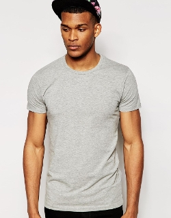 Crew Neck T-Shirt by Jack & Jones in Absolutely Anything