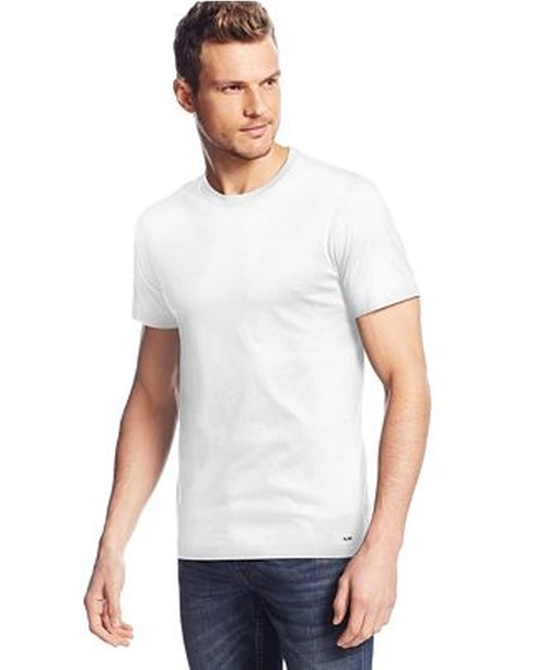 Liquid Jersey Crew-Neck T-Shirt by Michael Kors in Ride Along 2