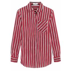Striped Silk Crepe De Chine Shirt by Altuzarra in The Catch