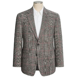 Glen Plaid Windowpane Sport Coat by Palm Beach in The D Train