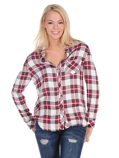 Plaid Button Shirt by Vintage Havana in Clueless
