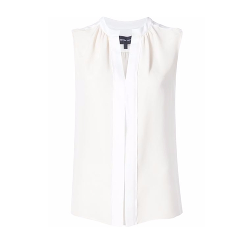 Pleated Placket Sleeveless Blouse by Derek Lam in Notorious - Season 1 Preview