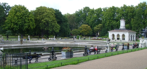 Italian Gardens London, United Kingdom in Survivor