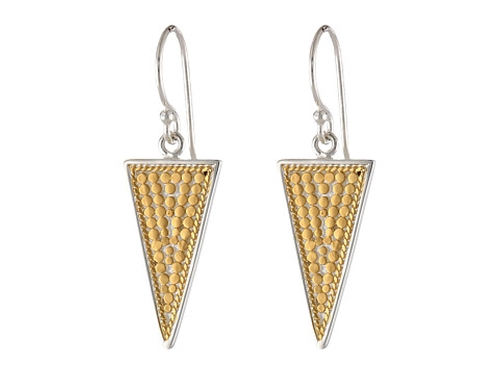 Triangle Earrings by Anna Beck in Pretty Little Liars - Season 6 Episode 10