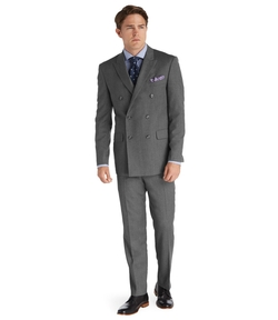1905 Tailored Fit Double Breasted Wool Suit  by Jos. A. Bank in Scarface