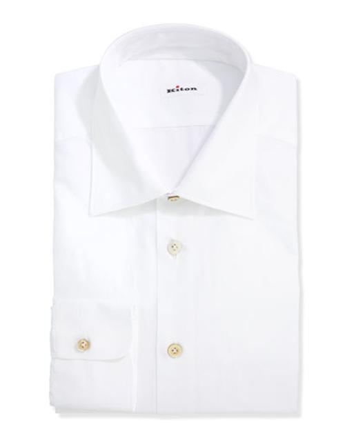 Basic Poplin Dress Shirt by Kiton	 in The Other Woman
