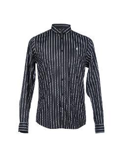 Striped Button Down Shirt by Ben Sherman in Couple's Retreat