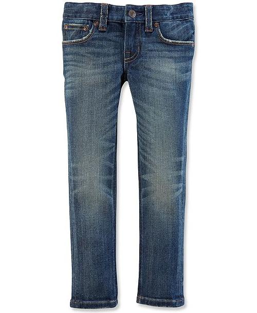 Little Girls' Skinny Jeans by Ralph Lauren in Addicted